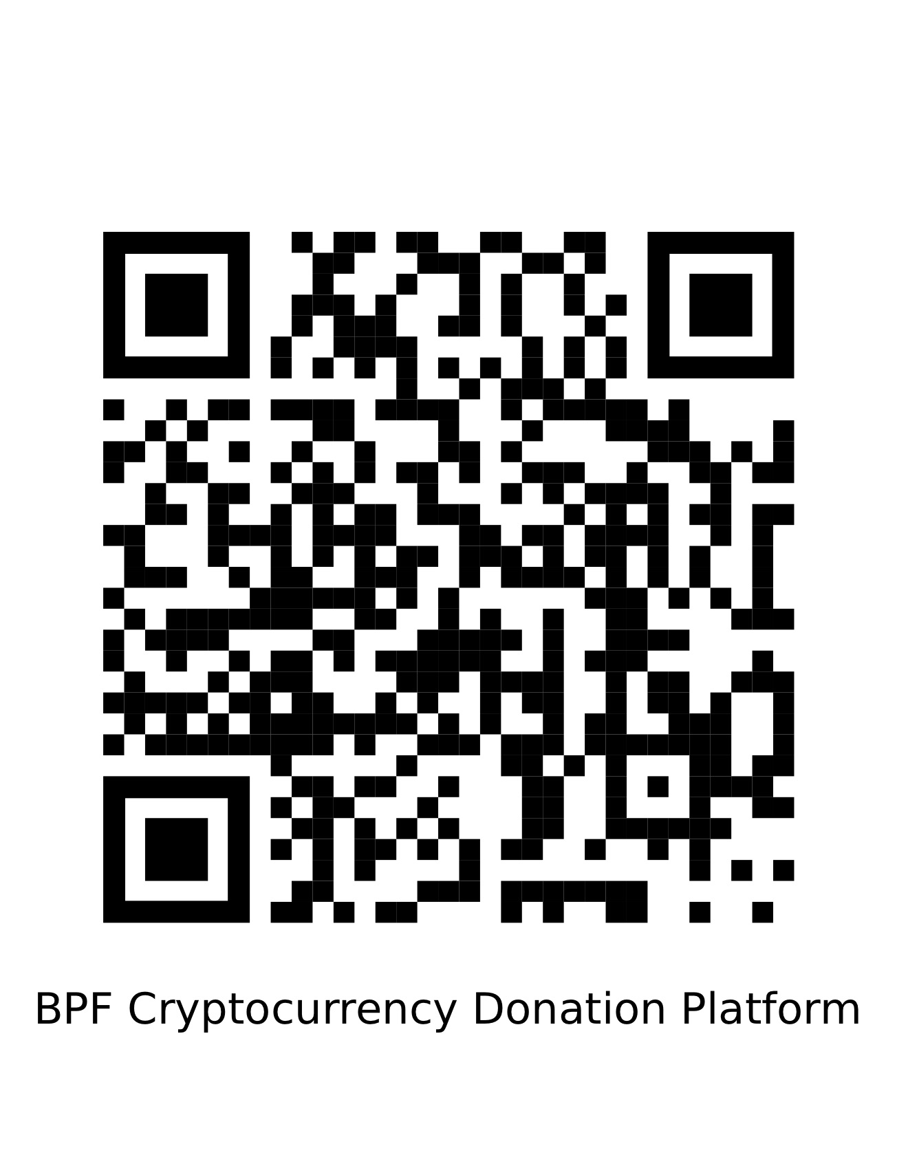 Make a Crypto Donation to BPF